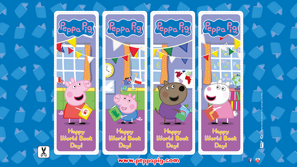 Peppa Pig: Bookmarks