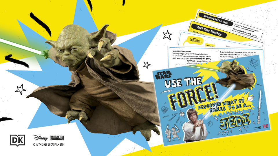 Star Wars Use The Force Activity Pack!